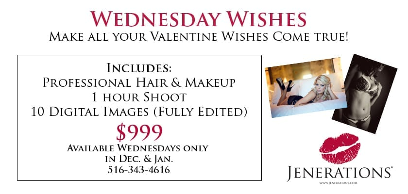 NYC Boudoir Photography | Wednesday Wishes