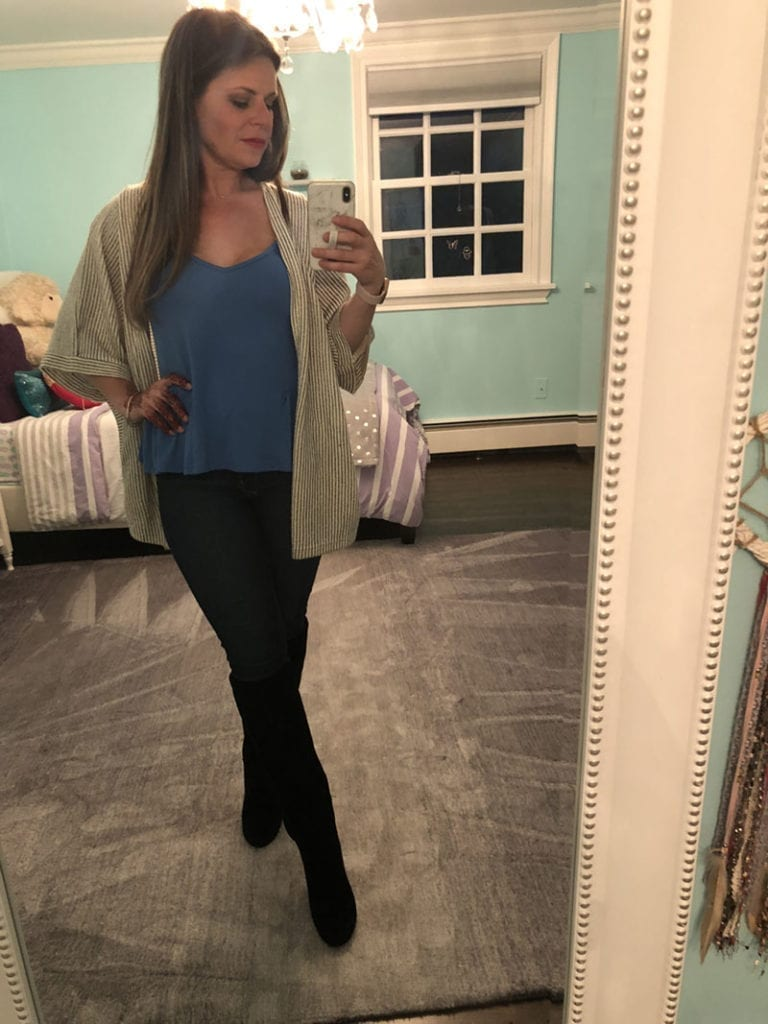 Knee high boots from Nordstrom