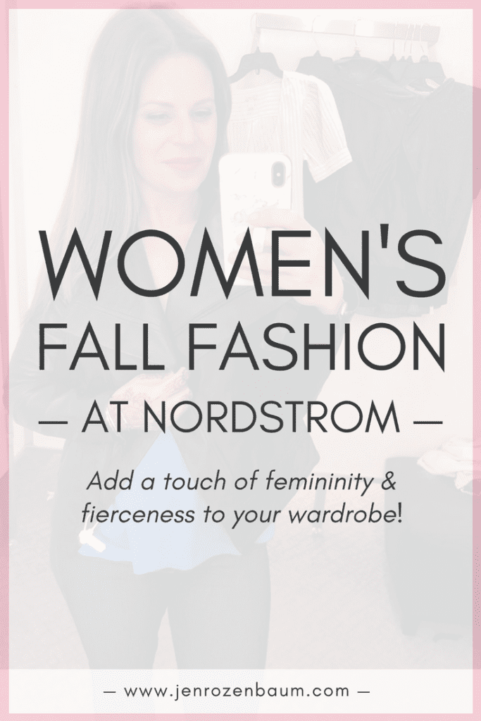 These women's fall fashion picks are perfect for adding some femininity and fierceness to your wardrobe. Whether you need a simple dress, a sexy bodysuit to pair with anything, or comfortable (but cute) sweatshirts for lounging, check out these 23+ top items from Nordstrom!